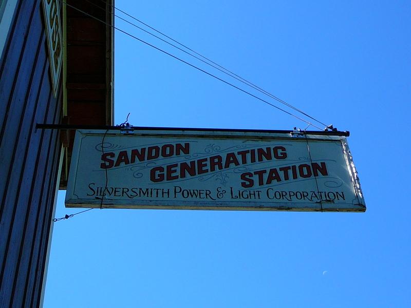 Ghosttown Sandon