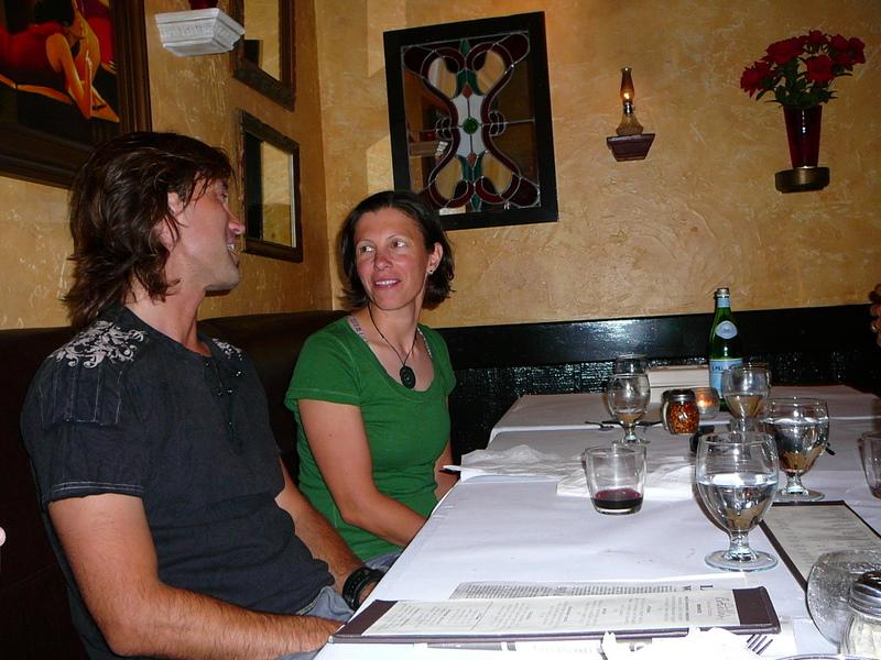 Bday dinner at Bordello's