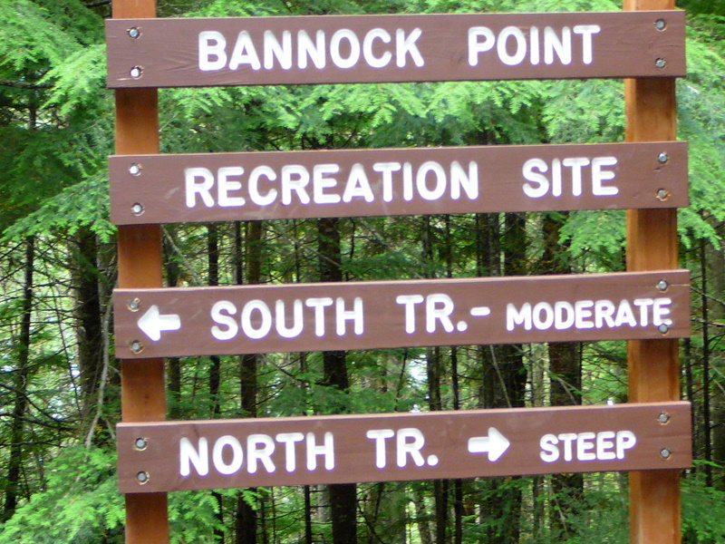 Bannock Point well maintained
