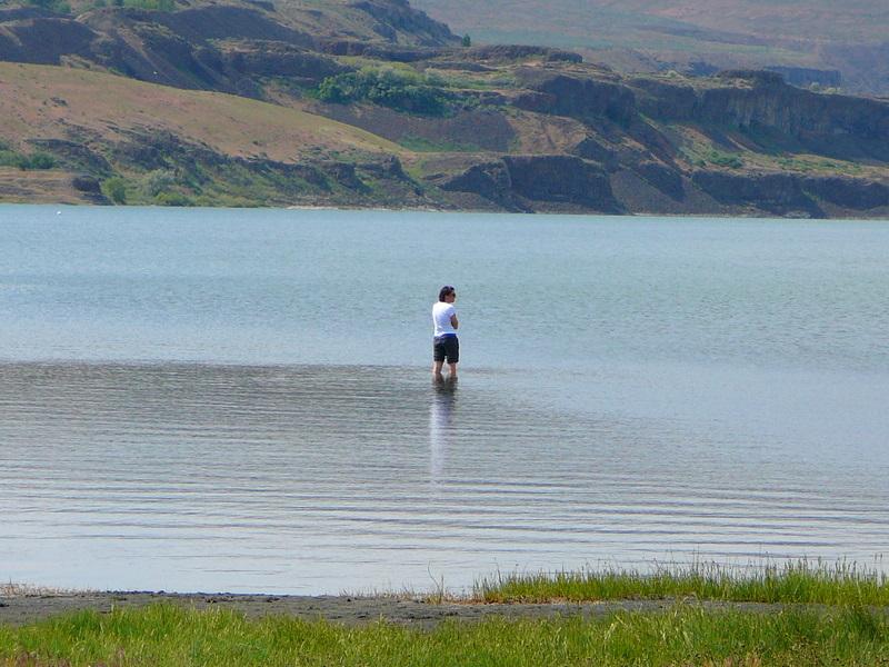 Soak in the healing waters of Soap Lake WA