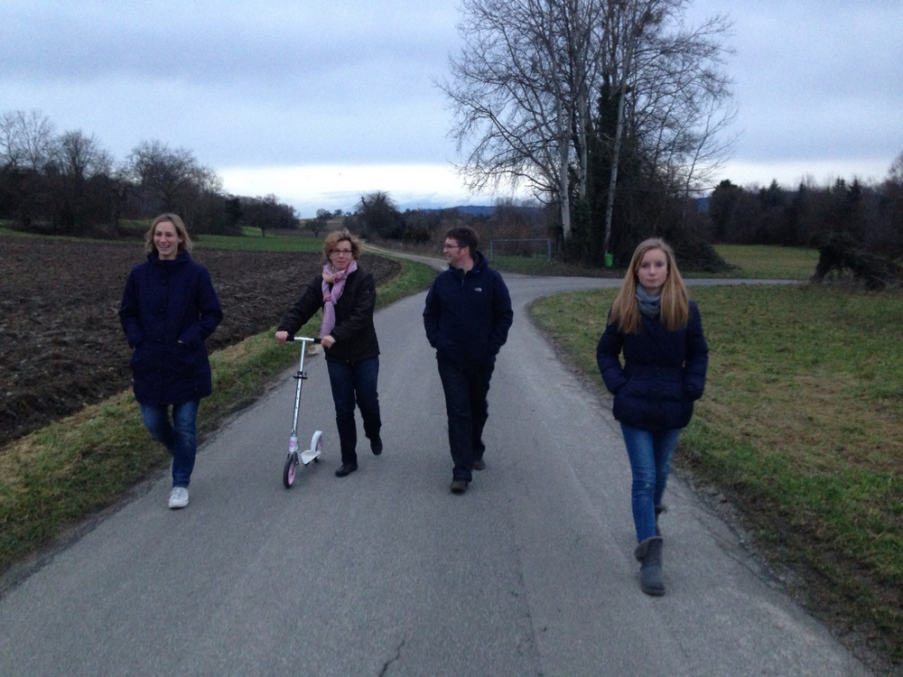 Walk with friends