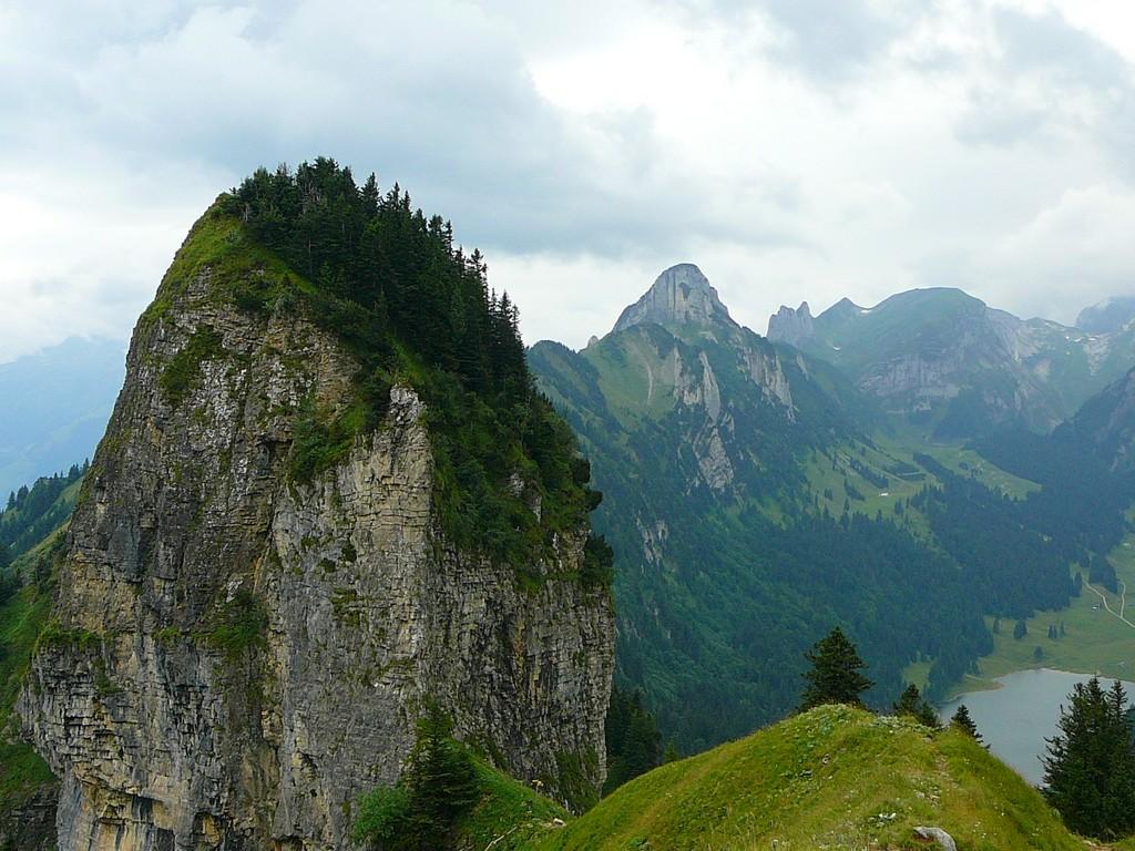 Hiking Hoher Kasten in Switzerland