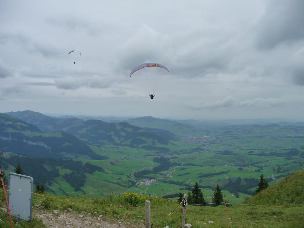 Gliders from Hoher Kasten