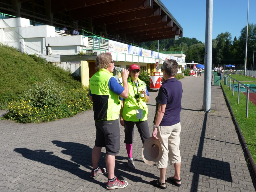 Working at the World Champs in Immenstadt