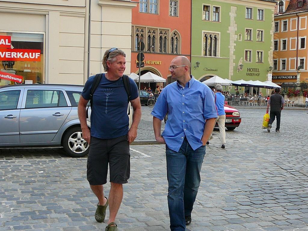 With Norbert in Regensburg