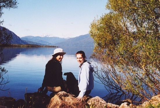With Heidi in NZ