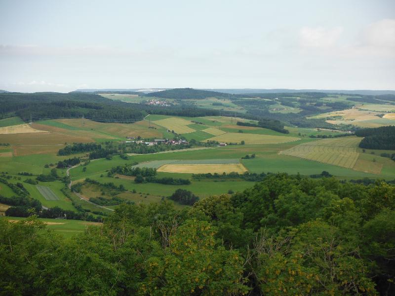 Hohenhewen - 30km trail run covering 5 volcanoes