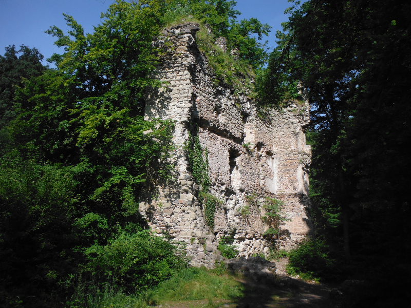 Marienschlucht Hike - Ruins