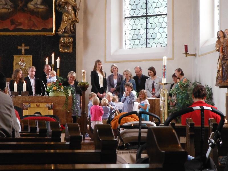 Baptism in Biberach