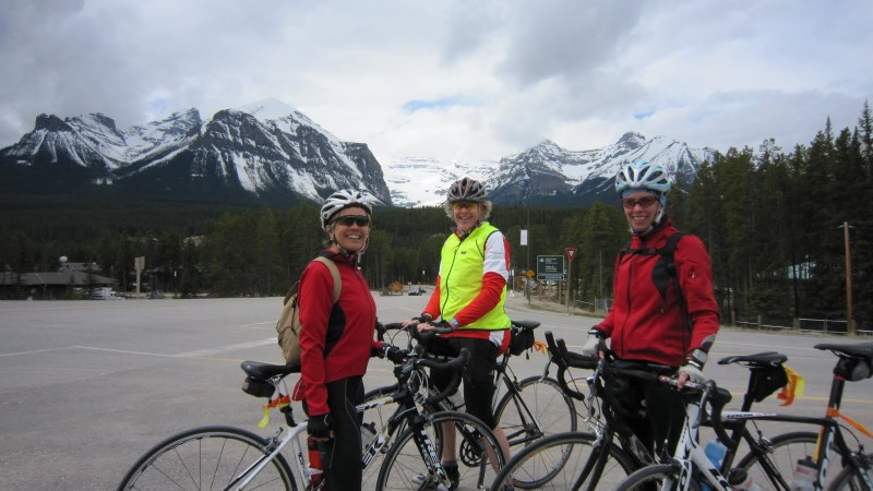 Near Lake Louise - Almost done
