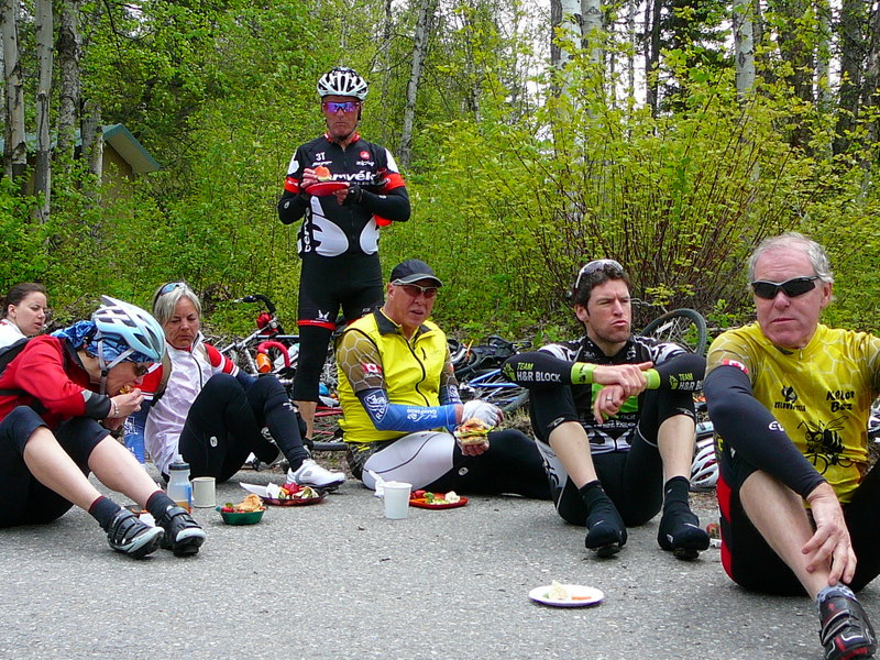 Lunch Stop Day 2