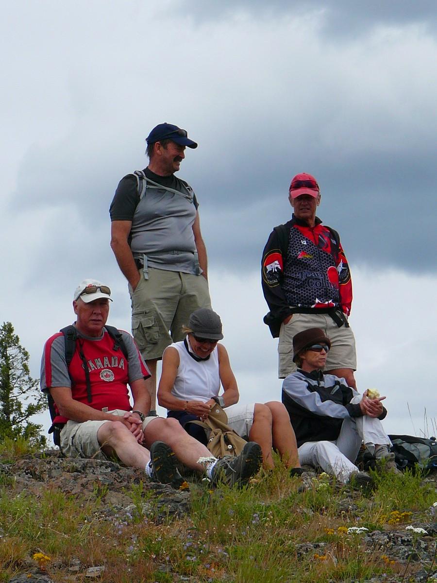 Lunch break on top 1286m