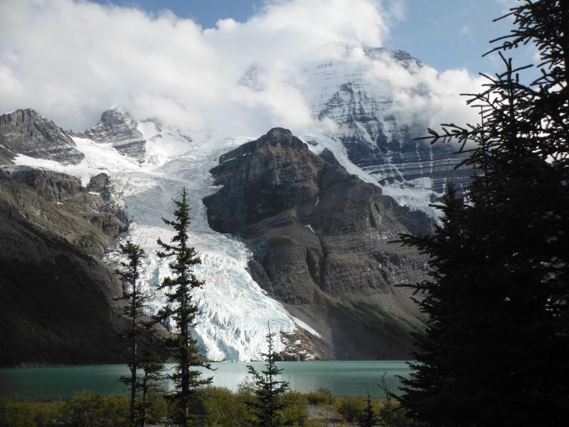 Berg Lake Hike Day 1