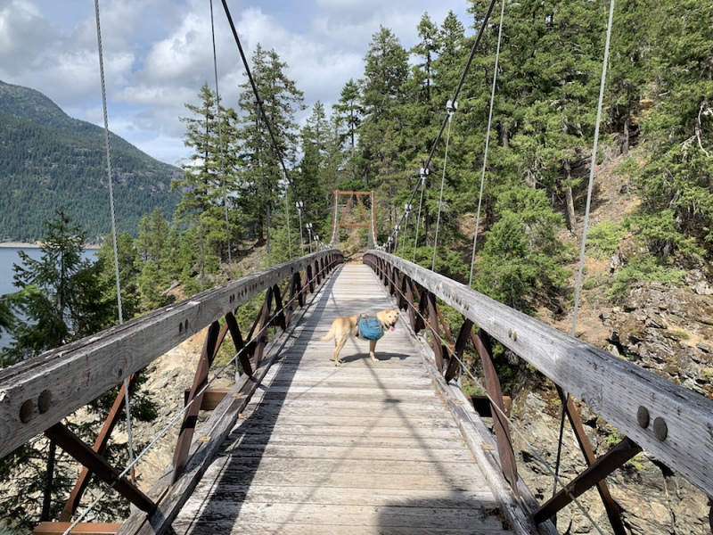 A week on the PNT - Ross Lake