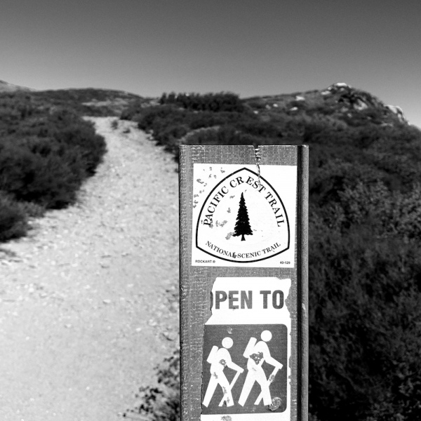 PCT near Garnet Peak CA