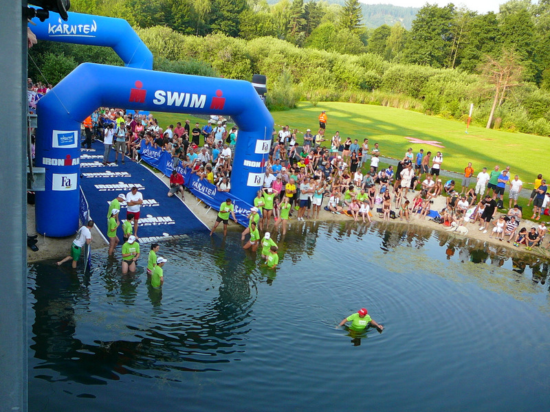 Swim exit prior to first swimmers
