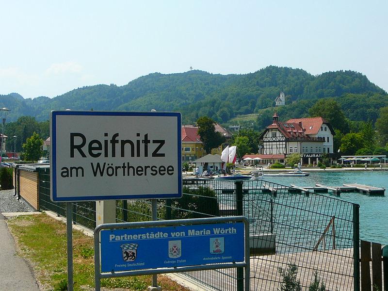 Along Woerthersee
