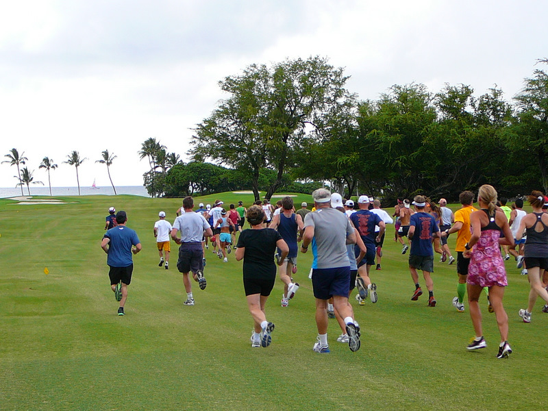 10km Run at Mauna Lani