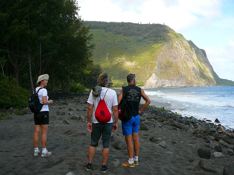 Hiking in Waipio Valley