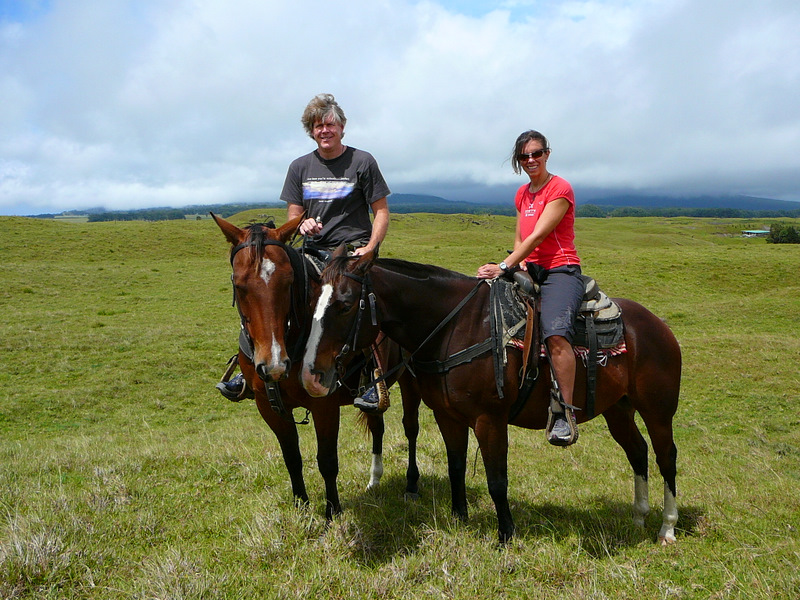 Trail Ride near Waimea
