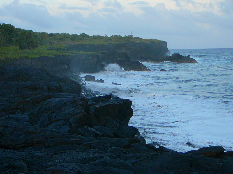Coast near Kapaahu