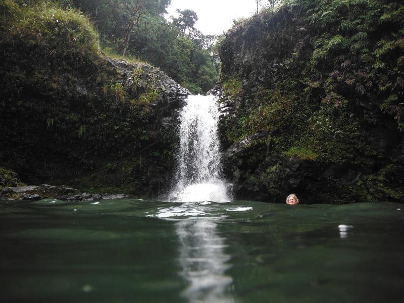 Wailua Iki Falls
