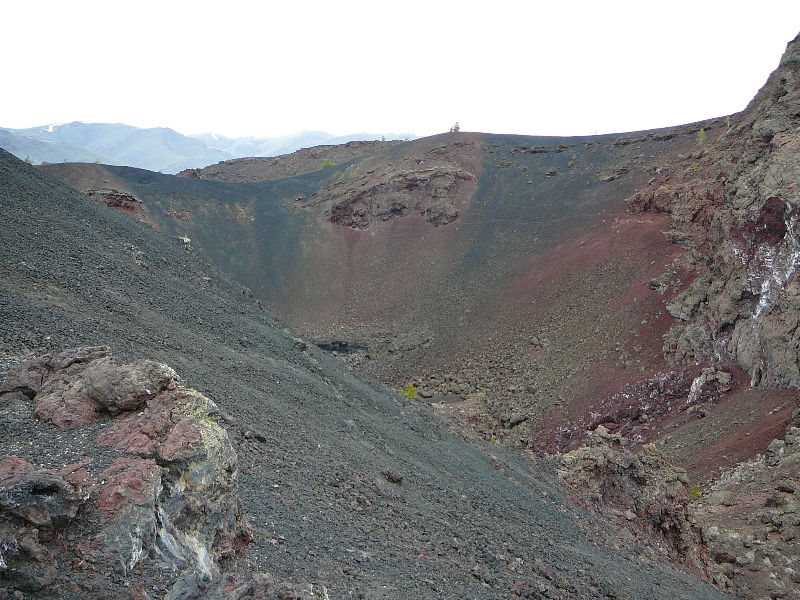 Crater at Craters of the Moon National Monument