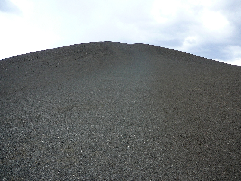 Hike up a crater!