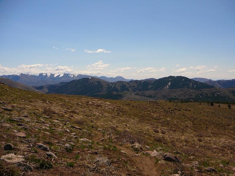 Greenhorn Gulch hike near Hailey ID