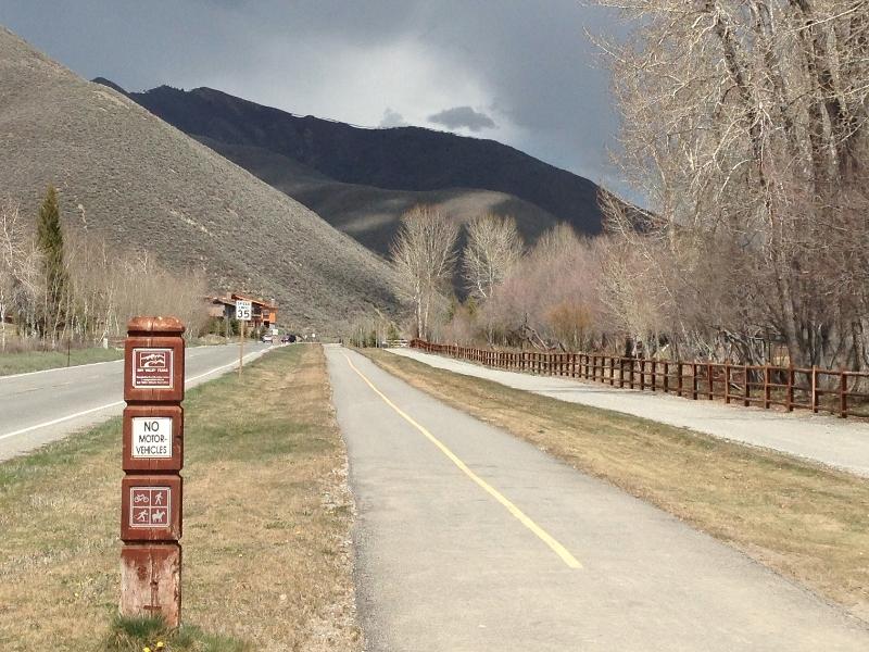Sun Valley bike trails