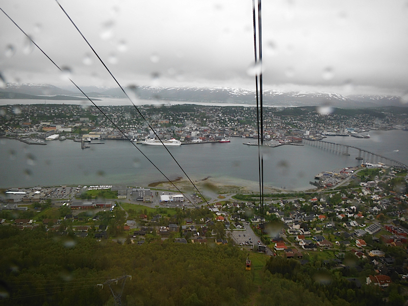 Tromso from the cable car