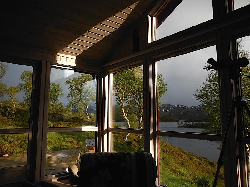 Stine and Otto's new cabin
