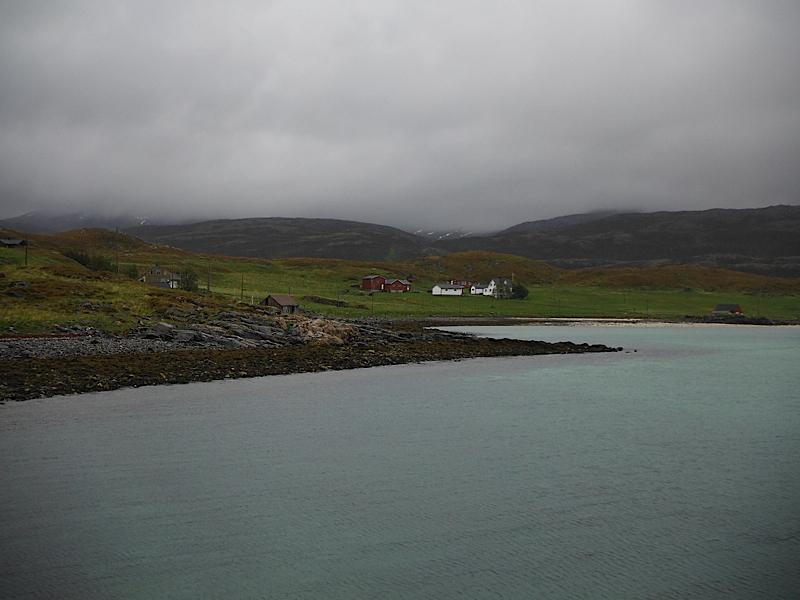 Shoreline on Ringvassoya