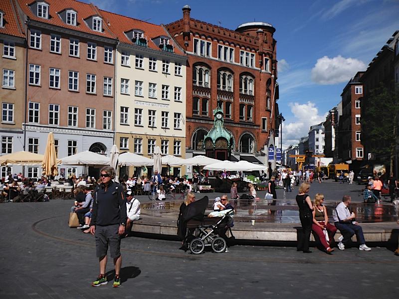 Downtown Copenhagen