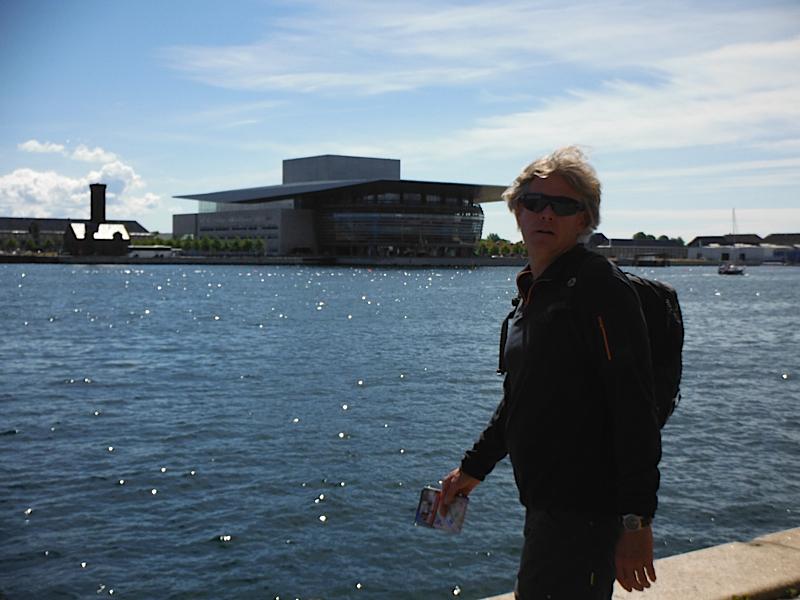 The new opera house in Copenhagen