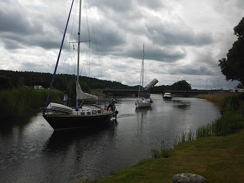 Hjälmare Kanal, Sweden