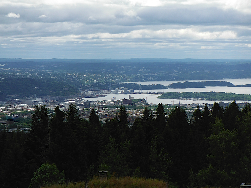 View of Oslo from Frognerseteren