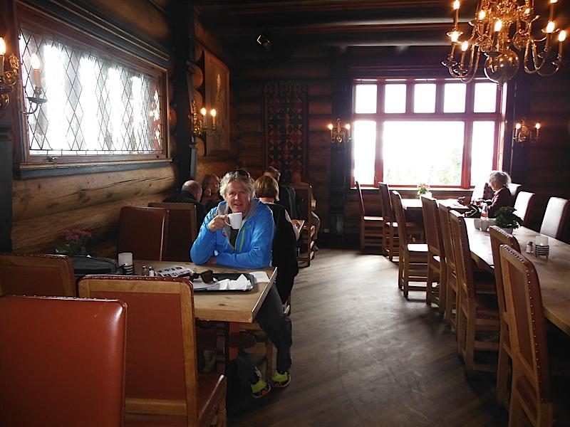 Coffee at Frognerseteren