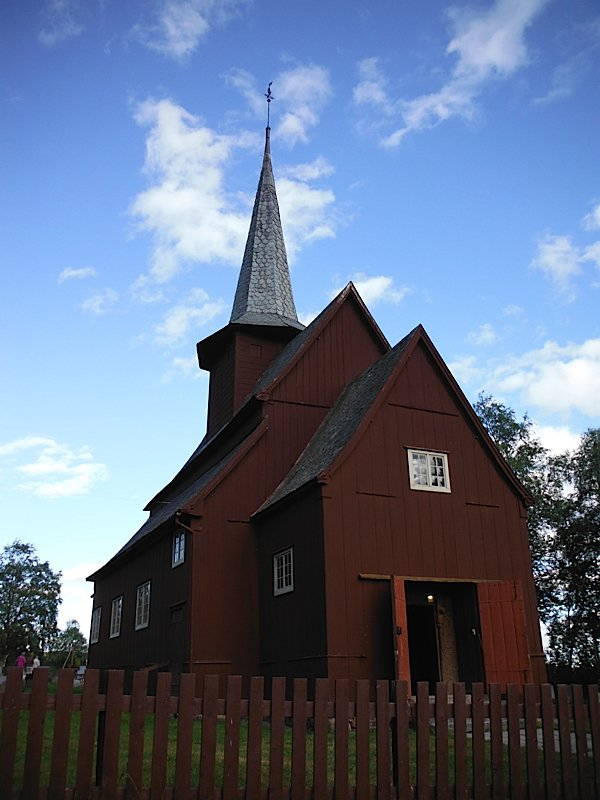 Hegge stave church
