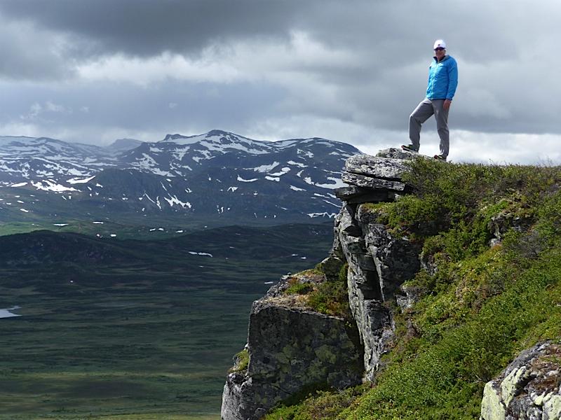 Graham on Heklefjell hike