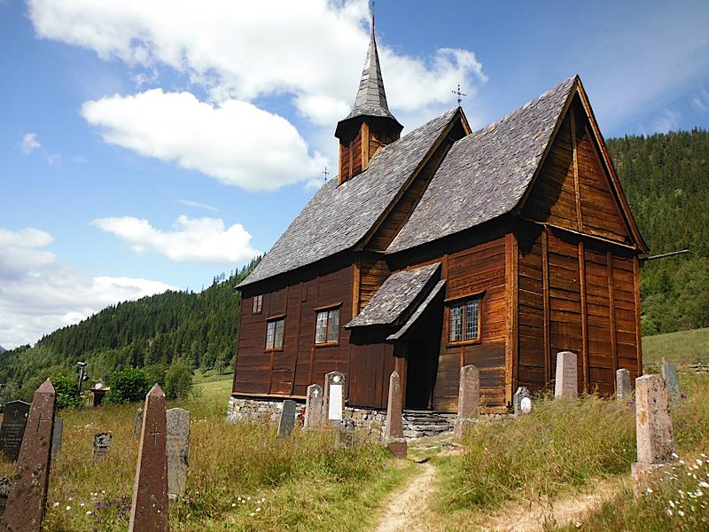 Lomen stave church