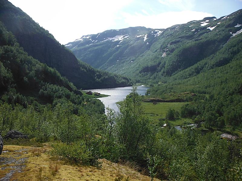 Hike Aurdal Valley Osterbo to Vassbygde