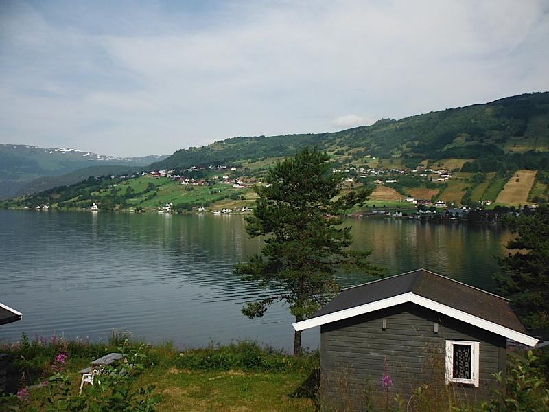 View from Lyngmo Gjestehus