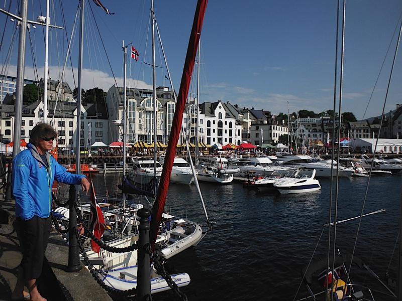 Alesund - boat festival!