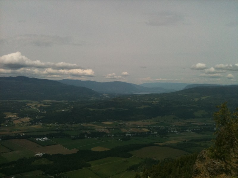 View from the Enderby Cliffs