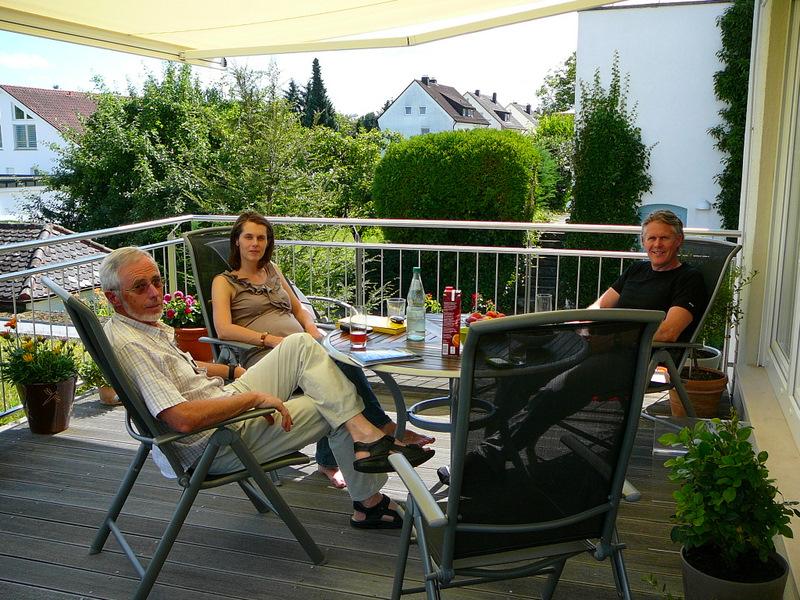 Lunch in Biberach with Heidi