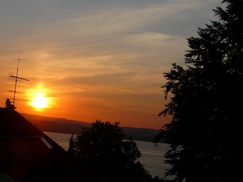 Sunrise in Litzelstetten