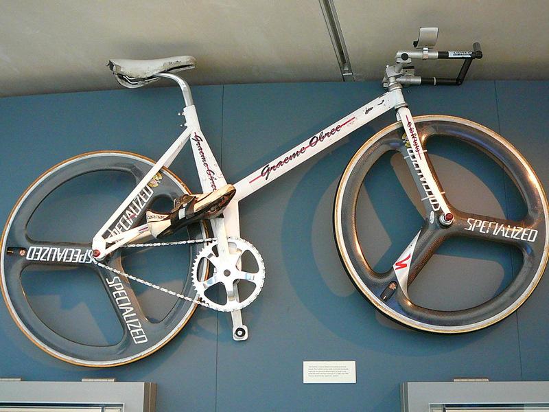 Graeme Obree's bike