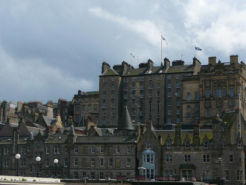 Edinburgh downtown