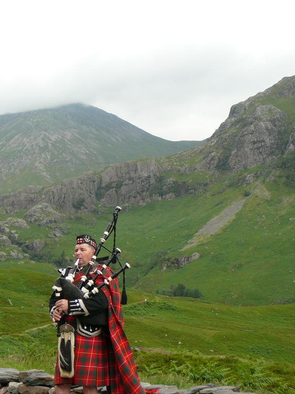 Near Glencoe - Scottish entertainment